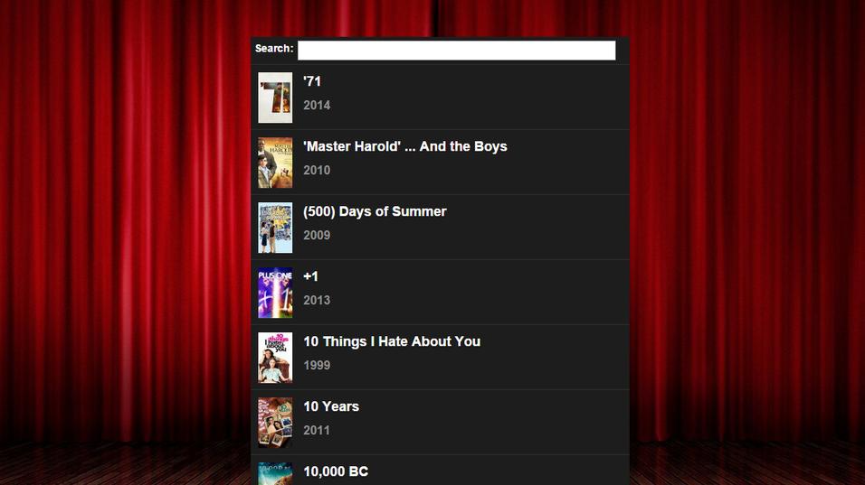 Slik ser grensesnittet til nye «popcorninyourbrowser» ut.