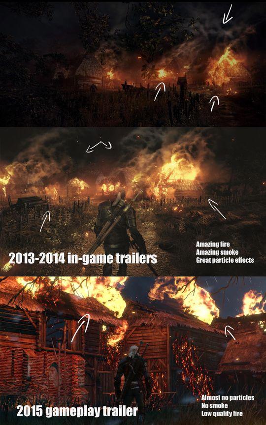 Et sammenligningsbildet som mange har sett de siste ukene.