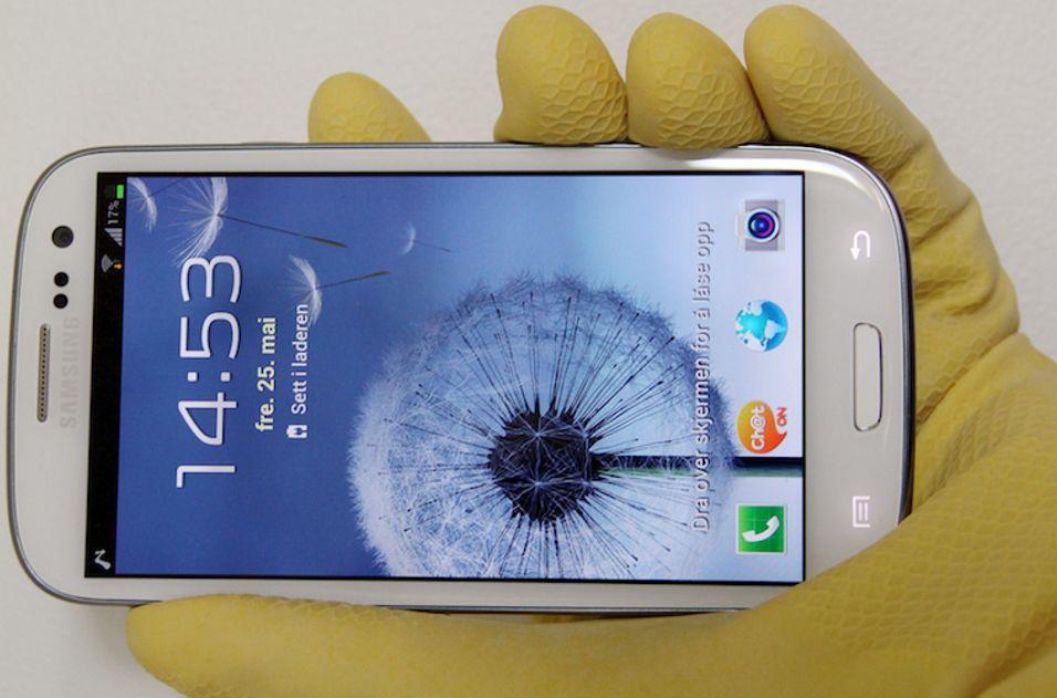 Vinnertelefonen Samsung Galaxy S III