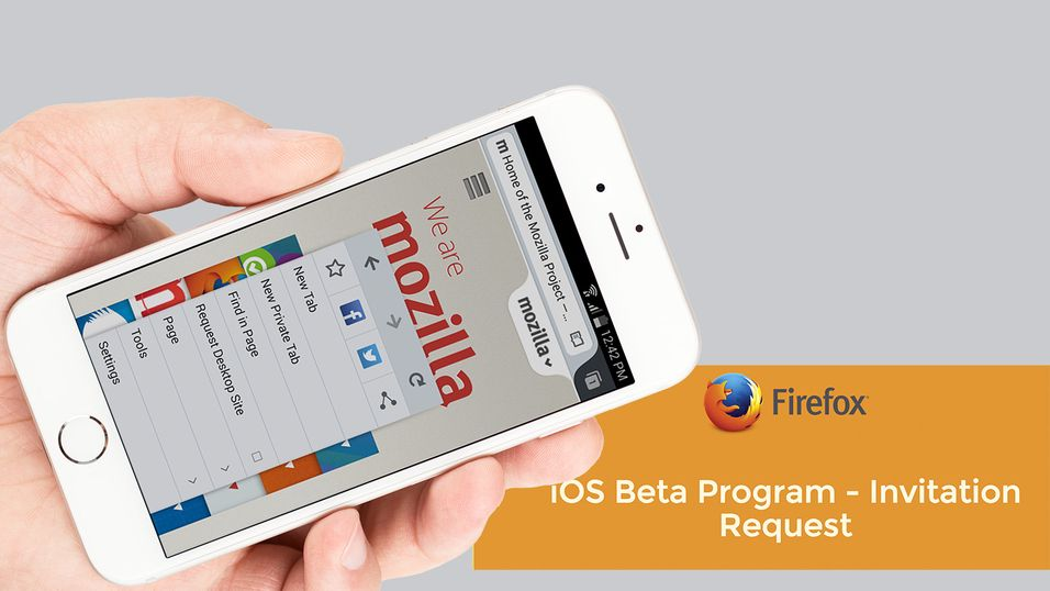 Nå lanseres snart Firefox til iPhone og iPad