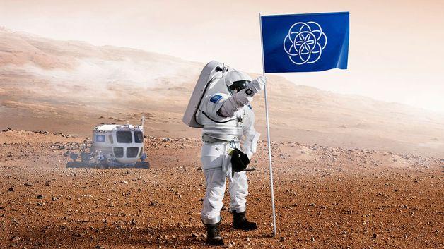 Bør dette bli jordklodens nye flagg?