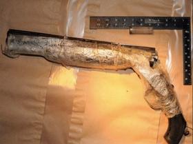 Hagla som ble brukt til å skyte Daniel Kennedy i magen med.