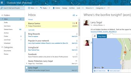 Microsoft gir Outlook en kraftig ansiktsløftning
