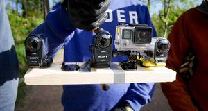 Test: Sony FDR-X1000V og HDR AS200V