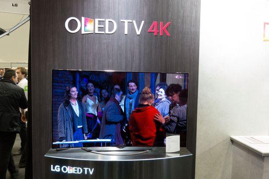 Bildekvaliteten på LGs nye 4K-OLED virker å være knallgod.