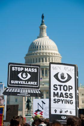 Mostanden mot overvåkningen har vært stor både i kongressen og blant folk flest.
