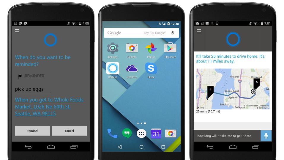 Nå lanseres Microsofts stemmeassistent til Android