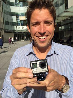 GoPro-sjef Nick Woodman.