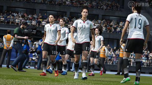 Damefotballen får seg eit løft i FIFA 16.