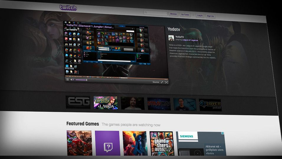 Twitch bannlyser spel for vaksne
