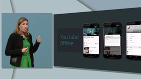 YouTube får også en ny offline-funksjon som gjør det mulig å se videoer uten nettforbindelse i en begrenset periode.