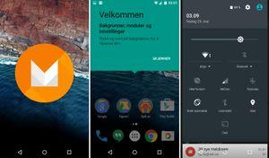 Slik ser utviklerversjonen av Android M ut.