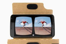 De nye VR-brillene, hvis det er det Google jobber med, vil trolig ikke ligne på Cardboard-brillene.