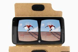 Slik ser VR ut i YouTube-appen.