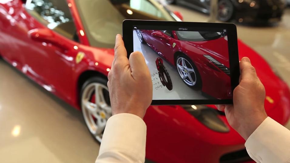 Virtuell konfigurering av biler er noe av det Mataios teknologi har blitt brukt til.