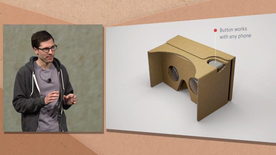 Slik ser den Cardboard-modellen ut.