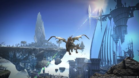 I Final Fantasy XIV: Heavensward får du ridedyr.