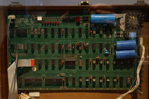 Maskinen ble kun solgt i byggesett-form. Denne befinner seg på Sydney Powerhouse Museum.