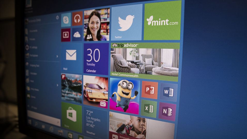 Windows 10-datoen er avslørt