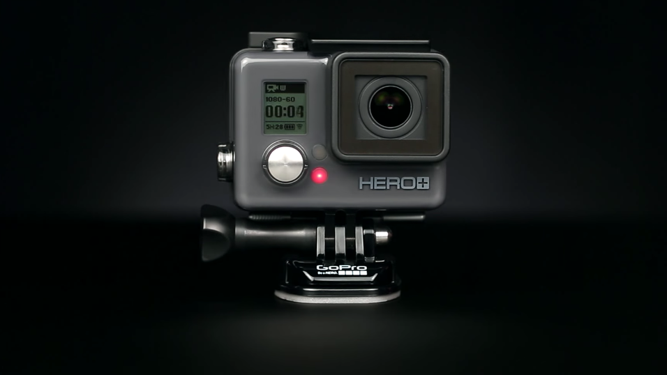 Nye GoPro Hero+ LCD.