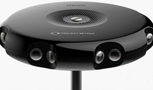Samsung utvikler en enhet med 16 HD-kameraer som sammen skal skape et 360-grader opptak.
