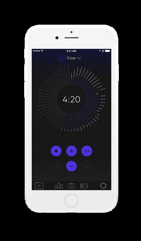 Thync fungerer sammen med en mobilapplikasjon.
