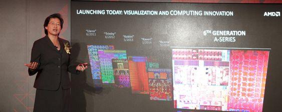 AMD-sjef Lisa Su introduserte Carrizo.