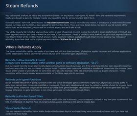 Steam vil gi deg pengene tilbake.