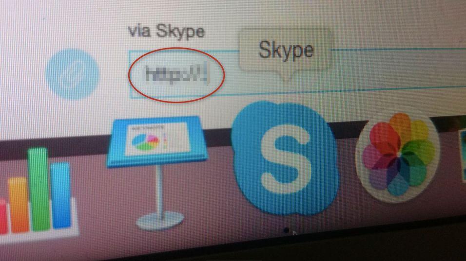 IKKE skriv dette inn i Skype-chatten din.