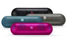 Høyttaleren med de potensielt brannfarlige batteriene kommer i disse fire fargene.