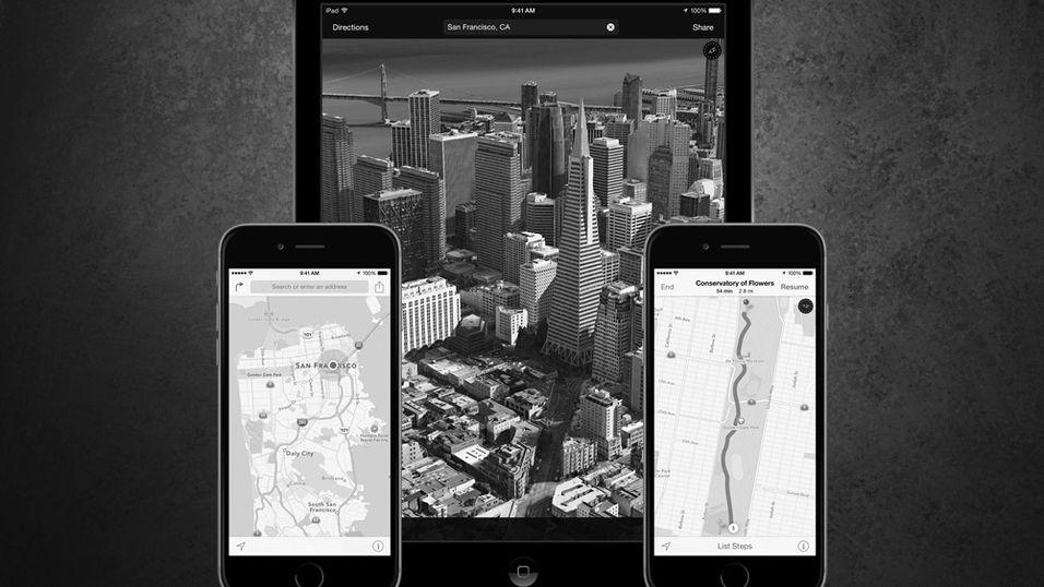 RYKTE: Snart kan «alle» trolig bruke Apples karttjeneste