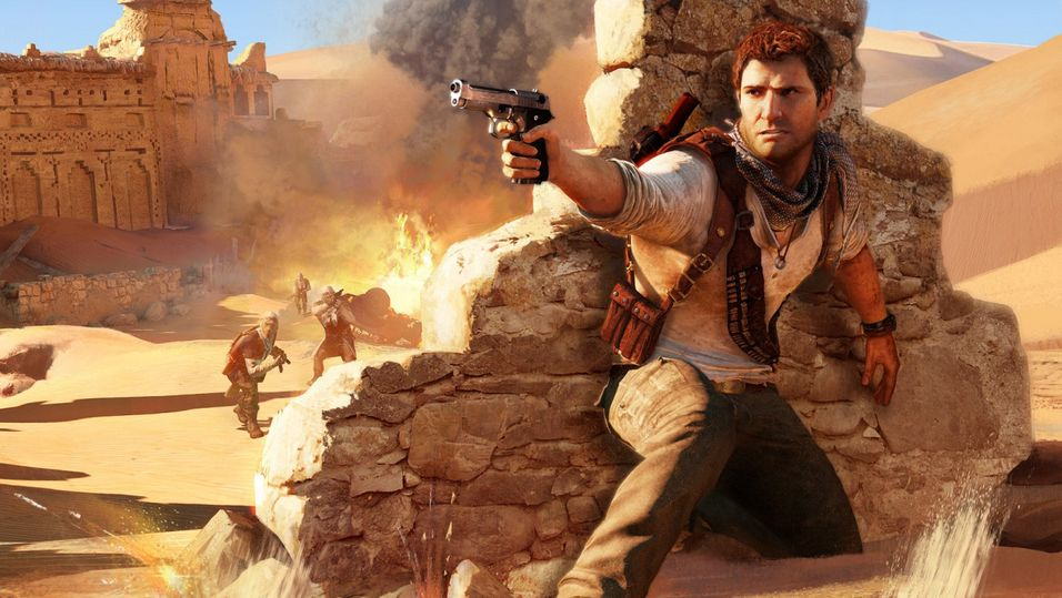 Konseptbilde fra Uncharted 3: Drake's Deception.