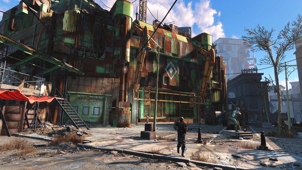 Jonas aner ikke hvordan han unnslipper Fallout 4.