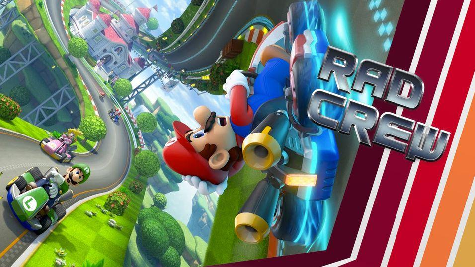 PODKAST: Dette er de beste Mario Kart-banene noensinne