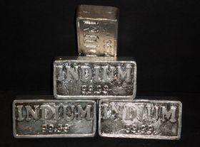 Indium er et av de sentrale byggematerialene i LCD-panelene.