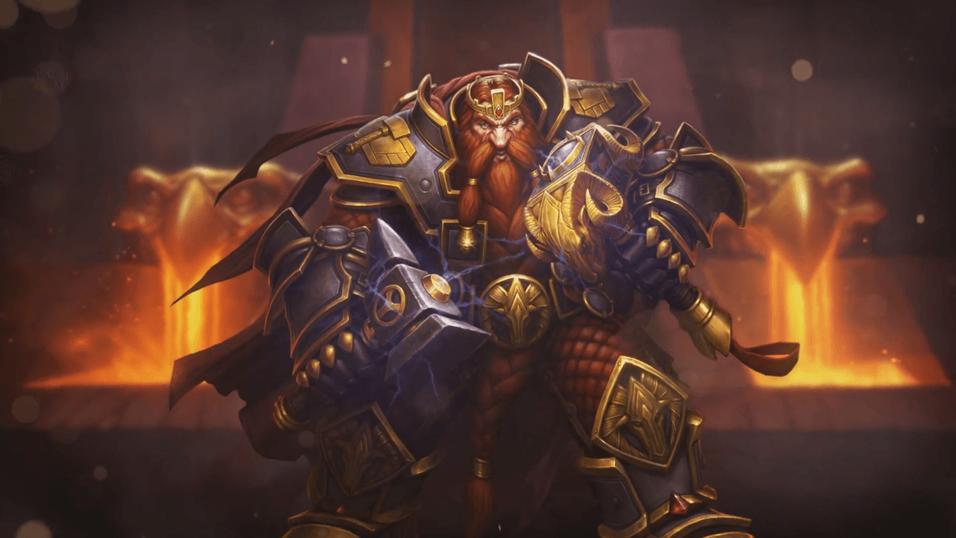 Den første helten som blir tilgjengelig er Magni Bronzebeard, kjent fra MMO-giganten World of Warcraft.