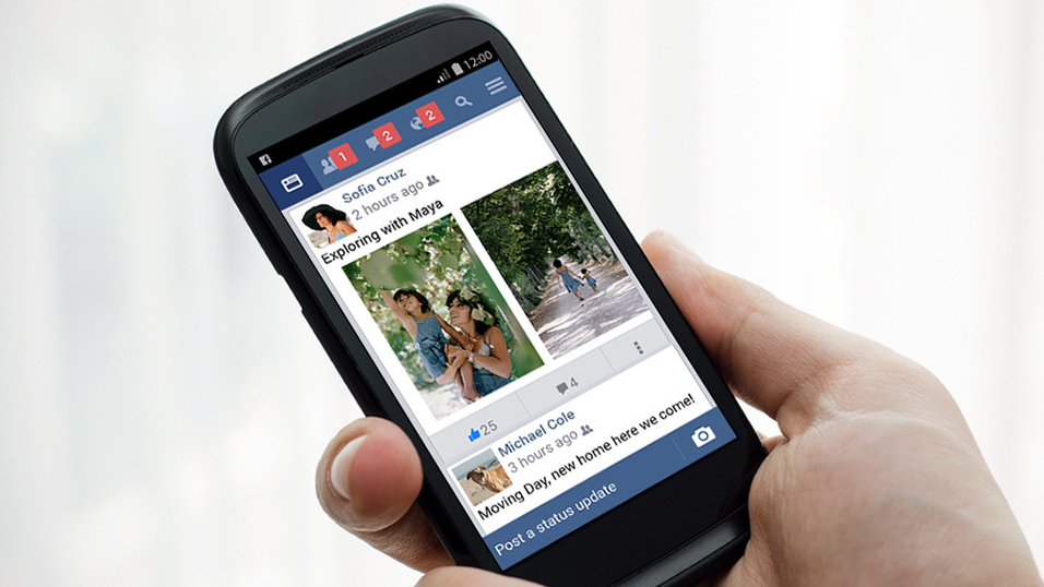 Nå blir det enklere å bruke Facebook på rimelige mobiltelefoner