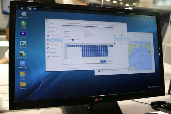 Synologys operativsystem SRM gjør ruteren enklere å bruke.