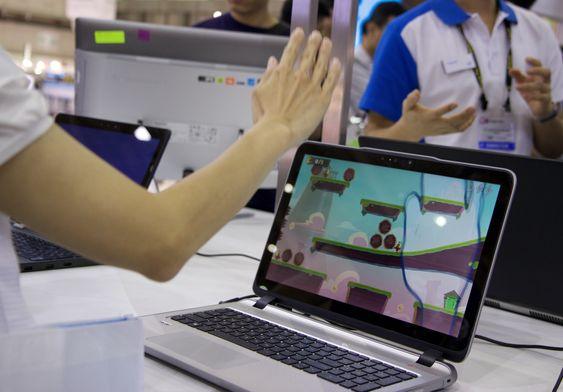 RealSense-kameraet i en PC kan brukes til alt fra spill til å få sikker pålogging med ansiktsgjenkjenning.