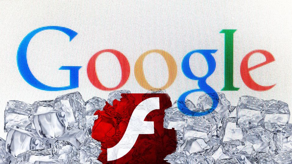 Google fryser Flash