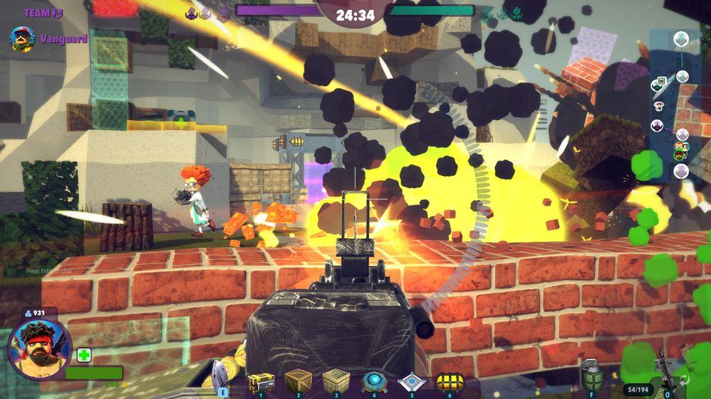 Sprengstoff og granater er fine instrumenter å ha med når man angriper fiendens base.