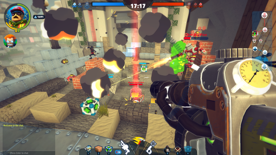 Det blir fort hett rundt kubene i fiendebasen.