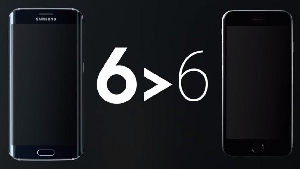 Samsung latterliggjør iPhone – igjen
