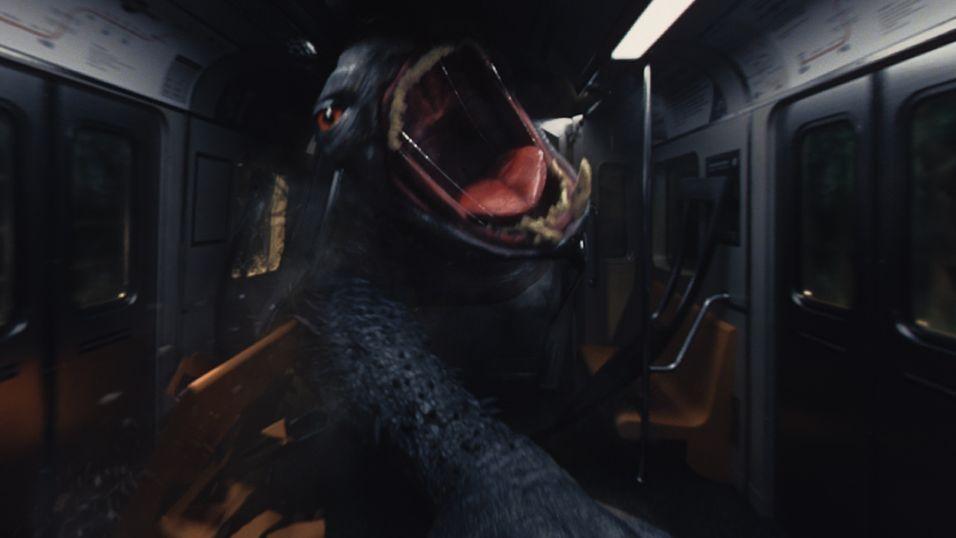 Googles første VR-film «HELP» byr på både monstre og eksplosjoner.