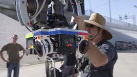 Dette er kamerariggen som ble brukt i produksjonen av filmen.