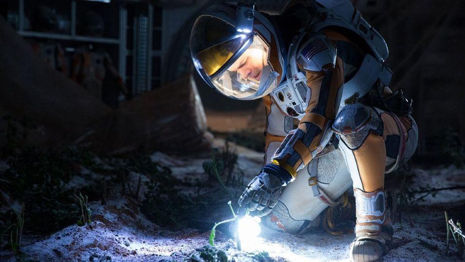 Matt Damon har hovedrollen i The Martian.