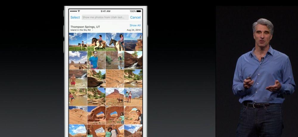 Craig Federighi viser frem nye Siri i iOS 9.