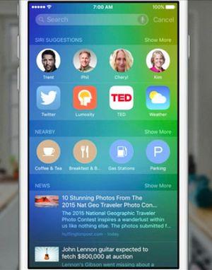 Foreslåtte apper og kontakter kan bli en veldig fin funksjon.