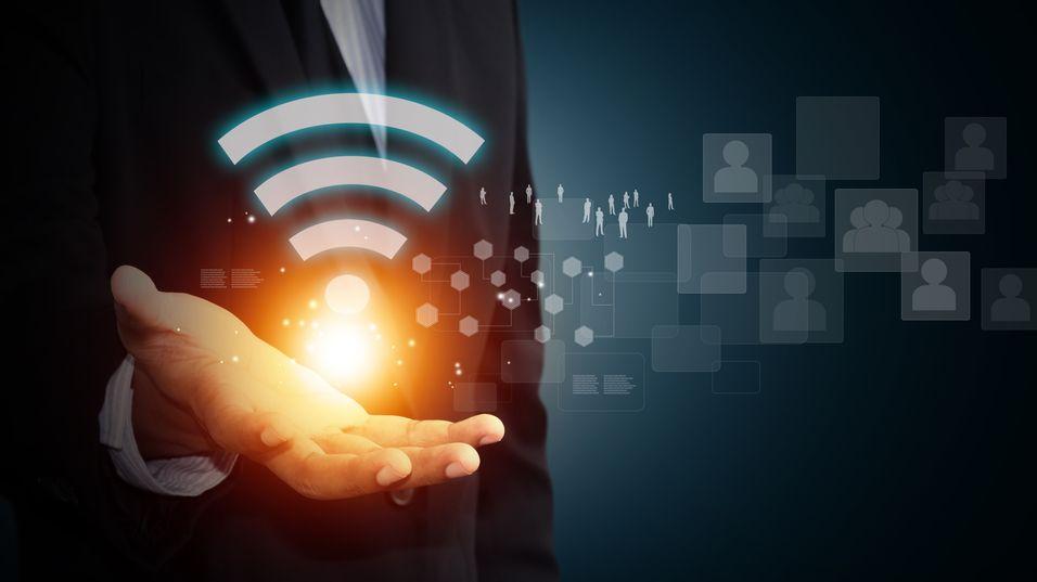 Forskere brukte Wi-Fi-signaler som strømkilde