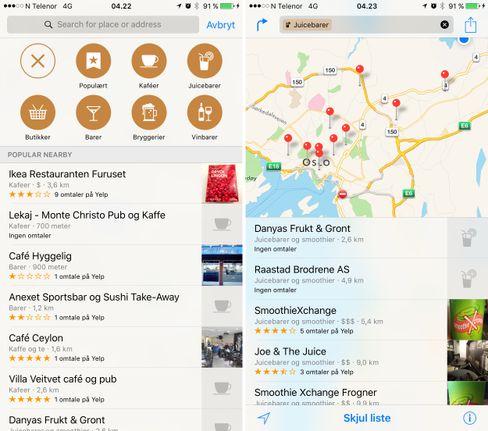 Apple Maps pleide å være en forholdsvis naken kartapplikasjon. Slik er det ikke lenger.